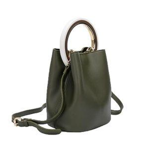 Melie Bianco olive bucket bag
